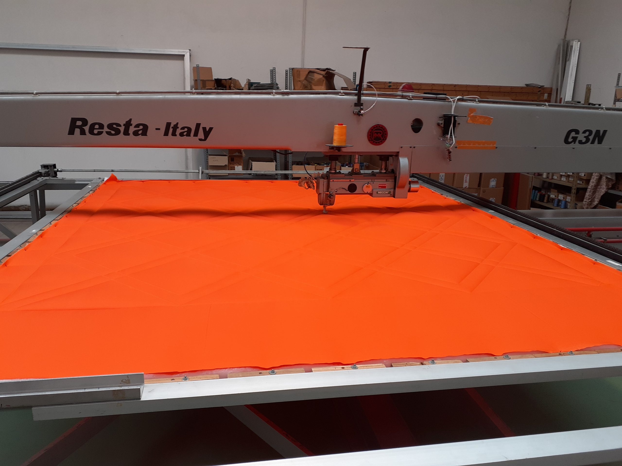 Processing - Coverless duvet Orange01