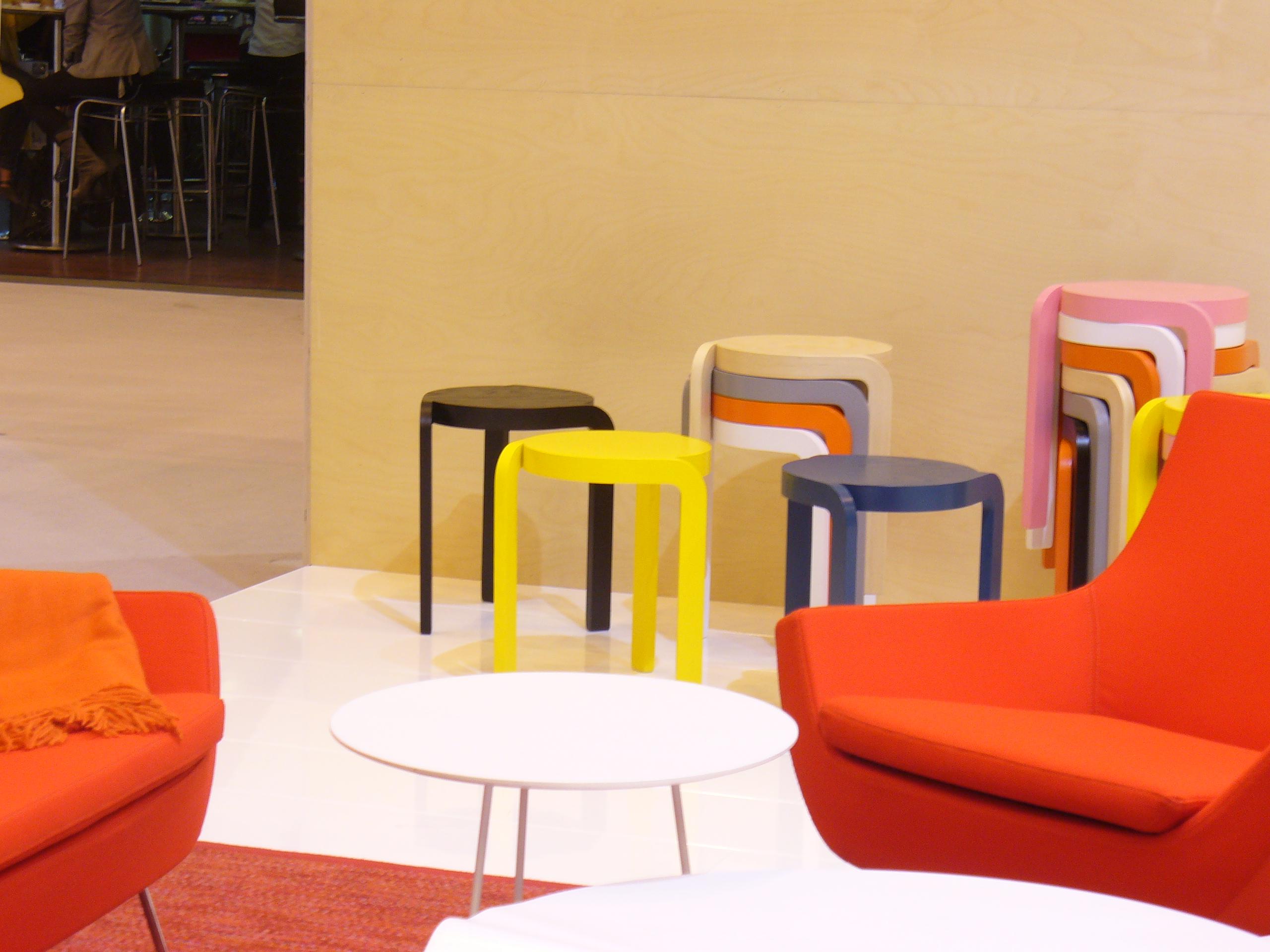 Minimal furniture pieces